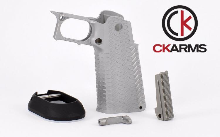 Edge Firearm Imports | CK Arms – Metal Grip Kit Stainless Steel